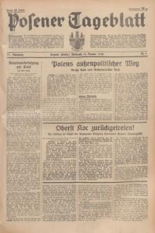 Posener Tageblatt. Jg.77, Nr. 8 (12 Januar 1938) + dod.