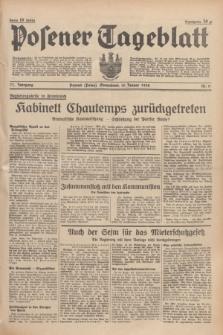 Posener Tageblatt. Jg.77, Nr. 11 (15 Januar 1938) + dod.