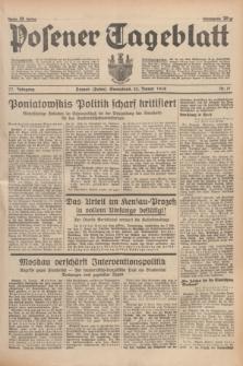 Posener Tageblatt. Jg.77, Nr. 17 (22 Januar 1938) + dod.