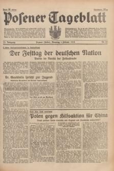 Posener Tageblatt. Jg.77, Nr. 25 (1 Februar 1938) + dod.