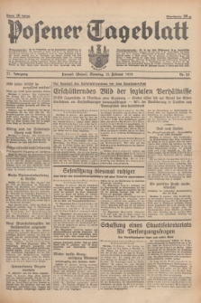 Posener Tageblatt. Jg.77, Nr. 35 (13 Februar 1938) + dod.