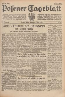 Posener Tageblatt. Jg.77, Nr. 48 (1 März 1938) + dod.