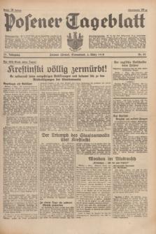 Posener Tageblatt. Jg.77, Nr. 52 (5 März 1938) + dod.