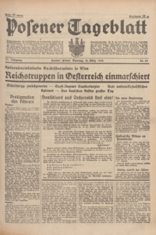 Posener Tageblatt. Jg.77, Nr. 59 (13 März 1938) + dod.
