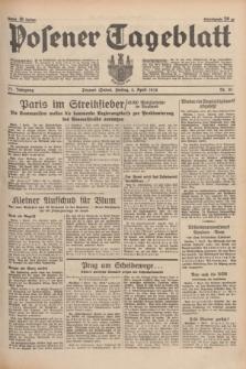 Posener Tageblatt. Jg.77, Nr. 81 (8 April 1938) + dod.