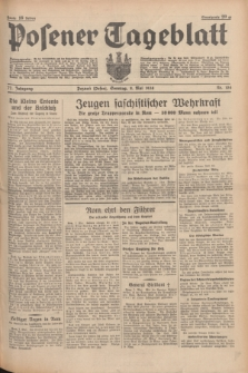 Posener Tageblatt. Jg.77, Nr. 104 (8 Mai 1938) + dod.