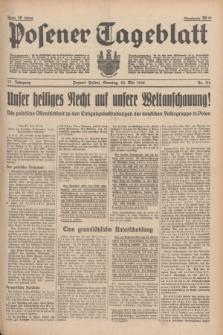 Posener Tageblatt. Jg.77, Nr. 116 (22 Mai 1938) + dod.