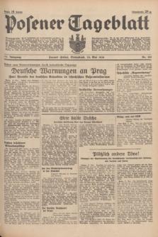 Posener Tageblatt. Jg.77, Nr. 120 (28 Mai 1938) + dod.