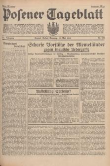 Posener Tageblatt. Jg.77, Nr. 121 (29 Mai 1938) + dod.