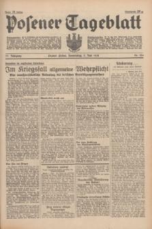 Posener Tageblatt. Jg.77, Nr. 124 (2 Juni 1938) + dod.