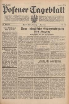 Posener Tageblatt. Jg.77, Nr. 137 (19 Juni 1938) + dod.