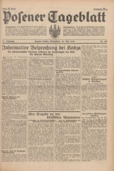 Posener Tageblatt. Jg.77, Nr. 142 (25 Juni 1938) + dod.