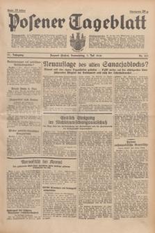 Posener Tageblatt. Jg.77, Nr. 151 (7 Juli 1938) + dod.