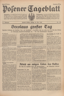 Posener Tageblatt. Jg.77, Nr. 170 (29 Juli 1938) + dod.