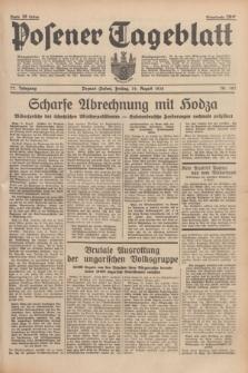 Posener Tageblatt. Jg.77, Nr. 187 (19 August 1938) + dod.