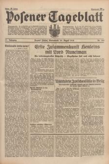 Posener Tageblatt. Jg.77, Nr. 188 (20 August 1938) + dod.