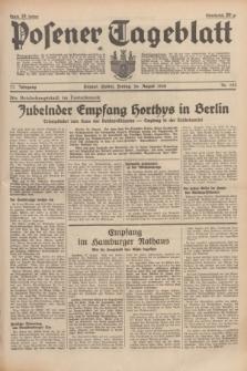 Posener Tageblatt. Jg.77, Nr. 193 (26 August 1938) + dod.