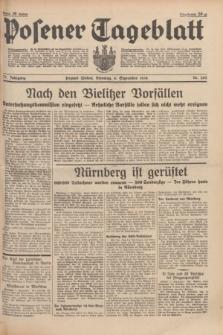 Posener Tageblatt. Jg.77, Nr. 202 (6 September 1938) + dod.