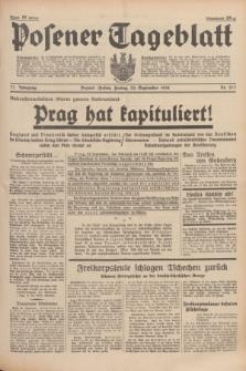 Posener Tageblatt. Jg.77, Nr. 217 (23 September 1938) + dod.