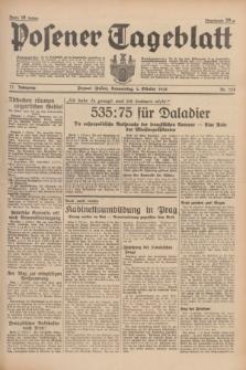 Posener Tageblatt. Jg.77, Nr. 228 (6 Oktober 1938) + dod.