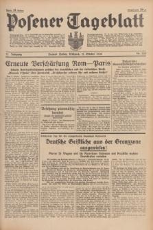 Posener Tageblatt. Jg.77, Nr. 233 (12 Oktober 1938) + dod.