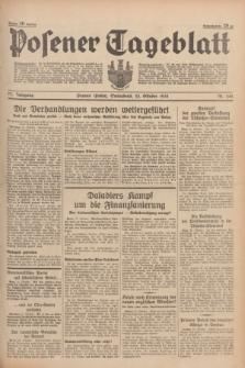 Posener Tageblatt. Jg.77, Nr. 242 (22 Oktober 1938) + dod.