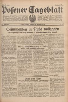 Posener Tageblatt. Jg.77, Nr. 255 (8 November 1938) + dod.