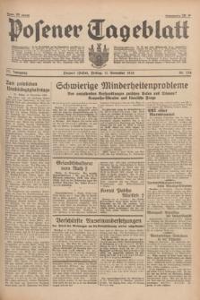 Posener Tageblatt. Jg.77, Nr. 258 (11 November 1938) + dod.