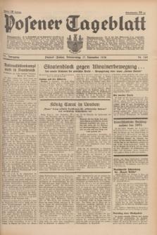 Posener Tageblatt. Jg.77, Nr. 262 (17 November 1938) + dod.