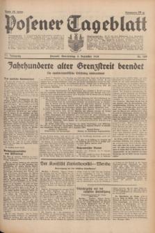 Posener Tageblatt. Jg.77, Nr. 280 (8 Dezember 1938) + dod.
