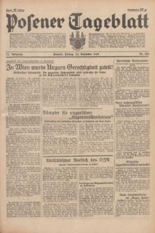 Posener Tageblatt. Jg.77, Nr. 292 (23 Dezember 1938) + dod.