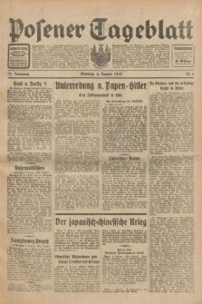 Posener Tageblatt. Jg.72, Nr. 6 (8 Januar 1933) + dod.