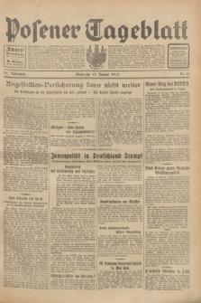 Posener Tageblatt. Jg.72, Nr. 13 (17 Januar 1933) + dod.