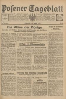 Posener Tageblatt. Jg.72, Nr. 23 (28 Januar 1933) + dod.