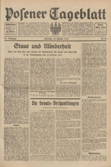 Posener Tageblatt. Jg.72, Nr. 48 (28 Februar 1933) + dod.
