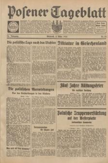 Posener Tageblatt. Jg.72, Nr. 55 (8 März 1933) + dod.