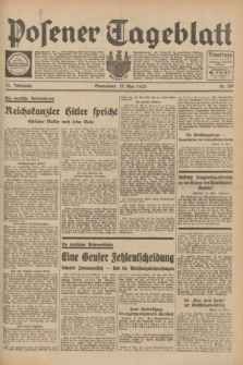 Posener Tageblatt. Jg.72, Nr. 109 (13 Mai 1933) + dod.