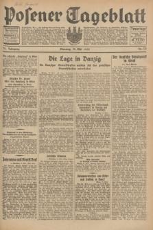 Posener Tageblatt. Jg.72, Nr. 111 (16 Mai 1933) + dod.