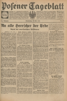 Posener Tageblatt. Jg.72, Nr. 113 (18 Mai 1933) + dod.