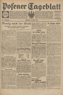 Posener Tageblatt. Jg.72, Nr. 123 (31 Mai 1933) + dod.
