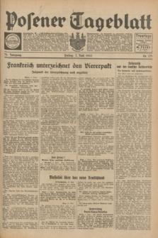 Posener Tageblatt. Jg.72, Nr. 125 (2 Juni 1933) + dod.