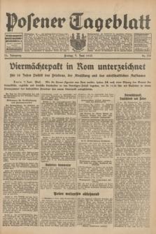 Posener Tageblatt. Jg.72, Nr. 130 (9 Juni 1933) + dod.