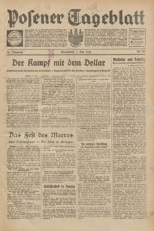 Posener Tageblatt. Jg.72, Nr. 147 (1 Juli 1933) + dod.