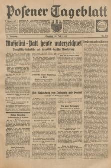 Posener Tageblatt. Jg.72, Nr. 160 (16 Juli 1933) + dod.
