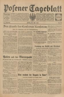 Posener Tageblatt. Jg.72, Nr. 170 (28 Juli 1933) + dod.