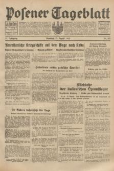 Posener Tageblatt. Jg.72, Nr. 185 (15 August 1933) + dod.