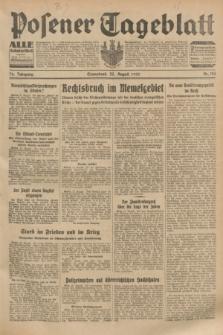 Posener Tageblatt. Jg.72, Nr. 194 (26 August 1933) + dod.