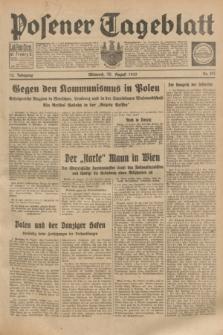Posener Tageblatt. Jg.72, Nr. 197 (30 August 1933) + dod.