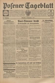 Posener Tageblatt. Jg.72, Nr. 203 (6 September 1933) + dod.