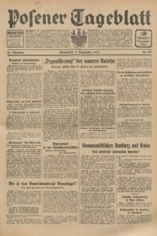 Posener Tageblatt. Jg.72, Nr. 206 (9 September 1933) + dod.